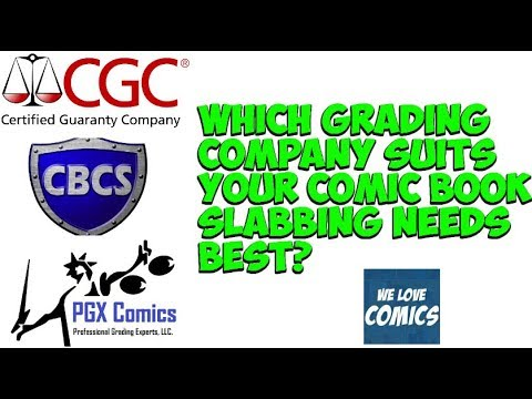 Getting your comics graded. Which company works best for your needs?