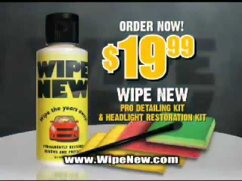 Wipe New Restores, Protects, and Lasts - Guaranteed