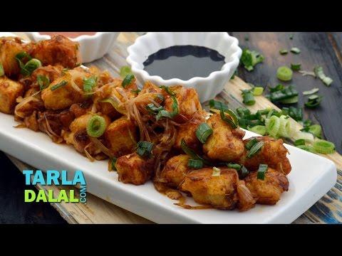 चिली पनीर स्टीर फ्राई रेसिपी (Chilli Paneer Stir-fry Recipe) by Tarla Dalal