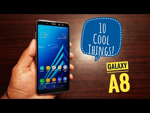10 cool things to do with Samsung Galaxy A8!