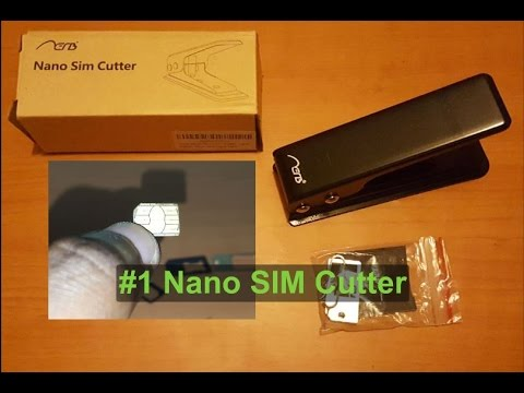 #1 Nano SIM cutter: For iPhone 6S,7 & Galaxy S7,Note 7 and more