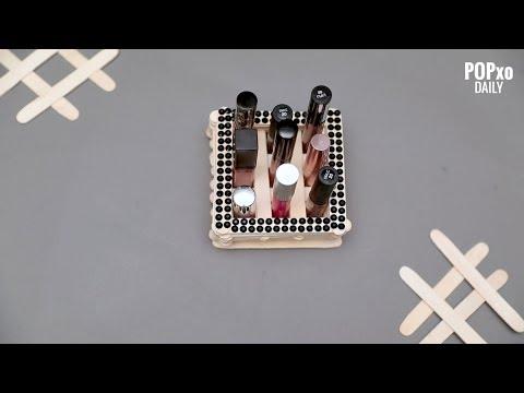DIY Lipstick Holder - POPxo