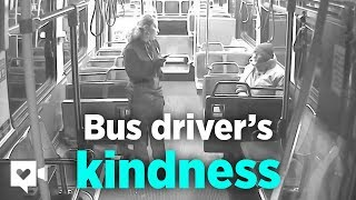 Bus driver becomes passenger's guardian angel