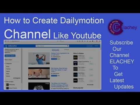 How To Open Dailymotion Account