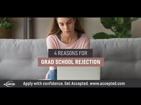 Four Reasons for Rejection