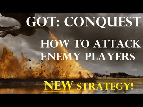 GOT: Conquest - How to Attack Enemy Players - NEW Strategy!