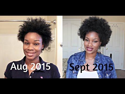 1 Month Hair Growth Update Using Vibrance Hair Vitamins