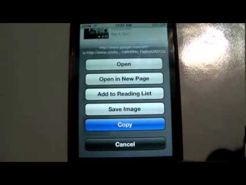 without jailbreak or computer download youtube videos on your iphone, ipod touch or ipad
