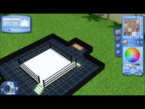 How to: Build a Wrestling Ring in The Sims 3