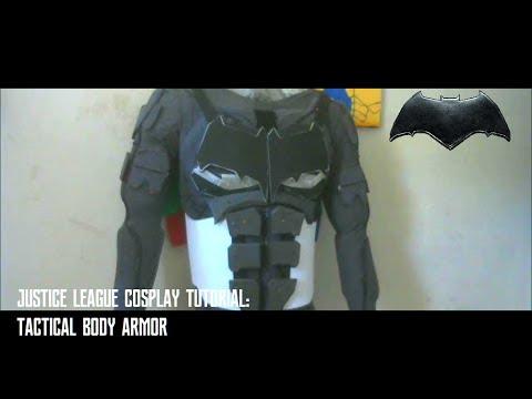 Justice League Tactical Batsuit Cosplay Tutorial : Body Armor