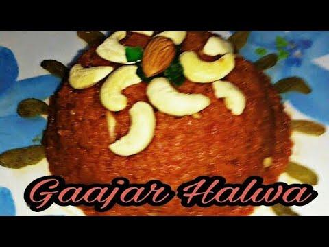 4 ingredients Gaajar Halwa in hindi   Gajar Ka Halwa Recipe   Carrot Halwa Recipe    nikki recipes
