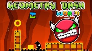 CONCLUSION TO THE RAGE TRILOGY!!   Geometry Dash World   Fan Choice Friday