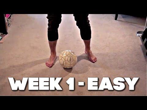 Soccer Tricks - Faster Feet In 3 Weeks - Part 1 of 3