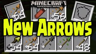 Minecraft Ps3 Ps4 Xbox New Potion Arrows Shields Quiver And More Titl