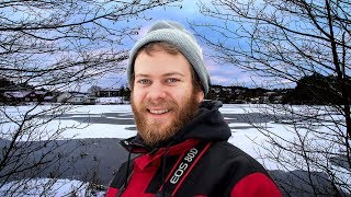 Nature Footage - Winter in Norway - Snow and Ice