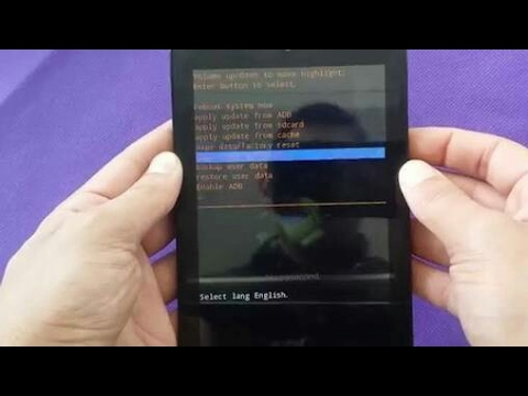 Tablet Hard Reset Penta WS707C