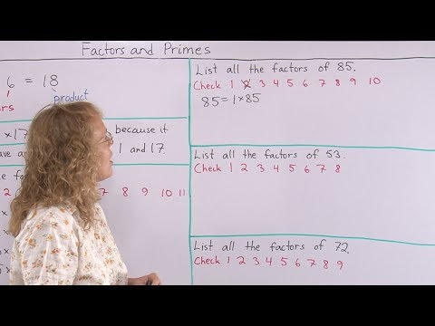How to find all the factors of a given number - 4th grade math