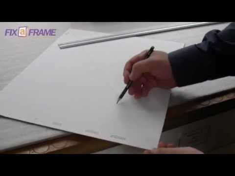 How to Square a Picture Framing Mat Board