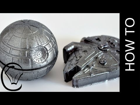 Edible Star Wars Cake Toppers by Cupcake Savvy's Kitchen