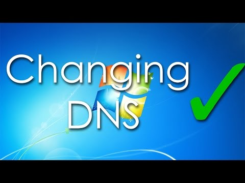 How to change DNS (Windows 7)