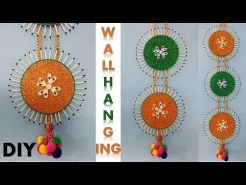 DIY Wall hanging craft || Room decoration ideas || Diwali decoration
