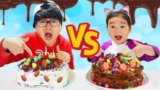 Boram And Konan Cake Challenge
