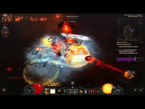 Diablo 3: The Diversity Of Uncommon Builds (Team 2/12 Grift 56 v2.4.0)