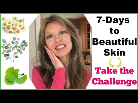 7-Day Challenge For Beautiful Renewed Skin | Fights Wrinkles | Heals Acne | Shrinks Pores