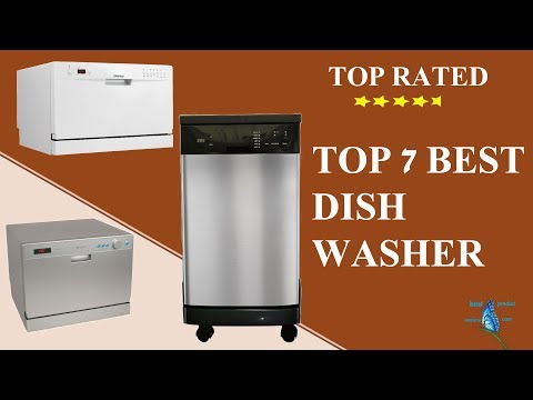 Top rated dishwasher|| Top 7 best cheap rated most reliable dishwasher on sale.