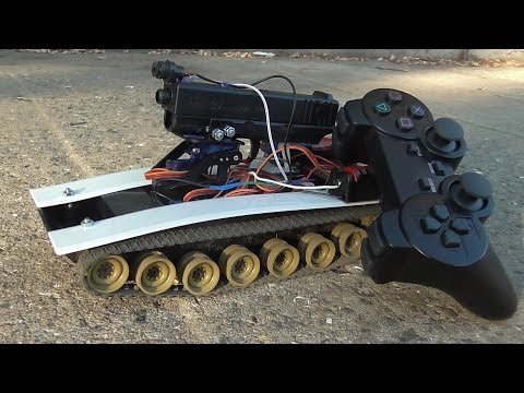 How to make Arduino RC tank