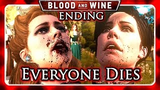 The Witcher 3 Blood and Wine - CIRI as EMPRESS - Good Ending | Daikhlo