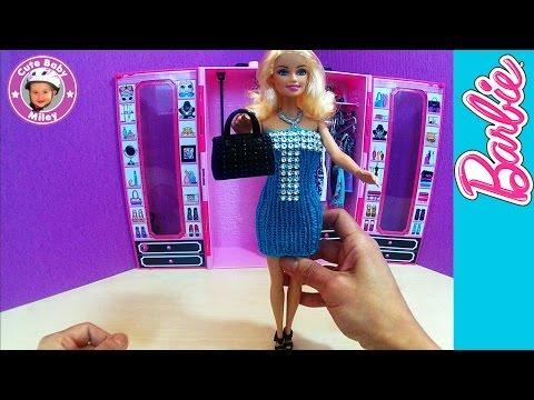 Barbie Strickkleid Diy In Türkis Barbie Kleider In Handarbeit