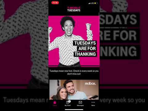 T-Mobile Tuesday March 13 2018