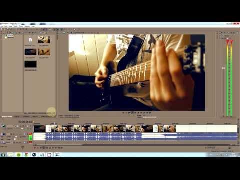 How To Make a High Quality Guitar Video [ Sony Vegas Tutorial ]