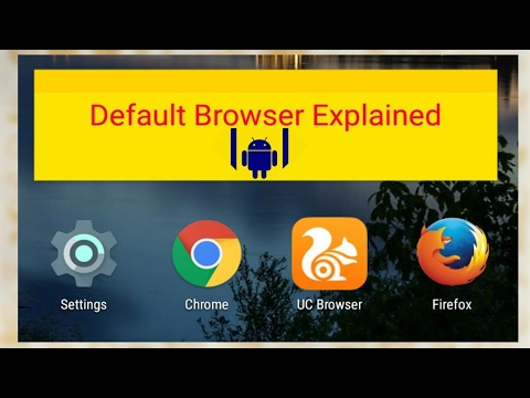 Set default browser in Android | Default browser explained | Hindi