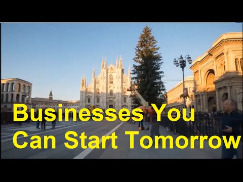 Businesses You Can Start Tomorrow - Need a Business Idea? here it is