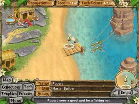 [12] Virtual Villagers 4: The Tree of Life Puzzles - Fishing Nets