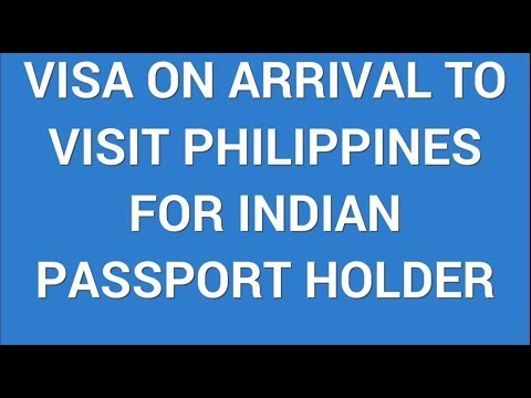 Philippines Visa On Arrival | Conditions for Visa on Arrival for Philippines