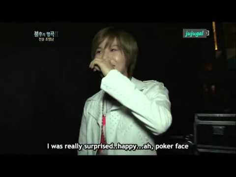 [eng] Cute Taemin wanna make poker face