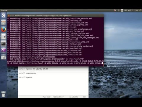 How to Install OpenCV on Ubuntu 14.04-64bit