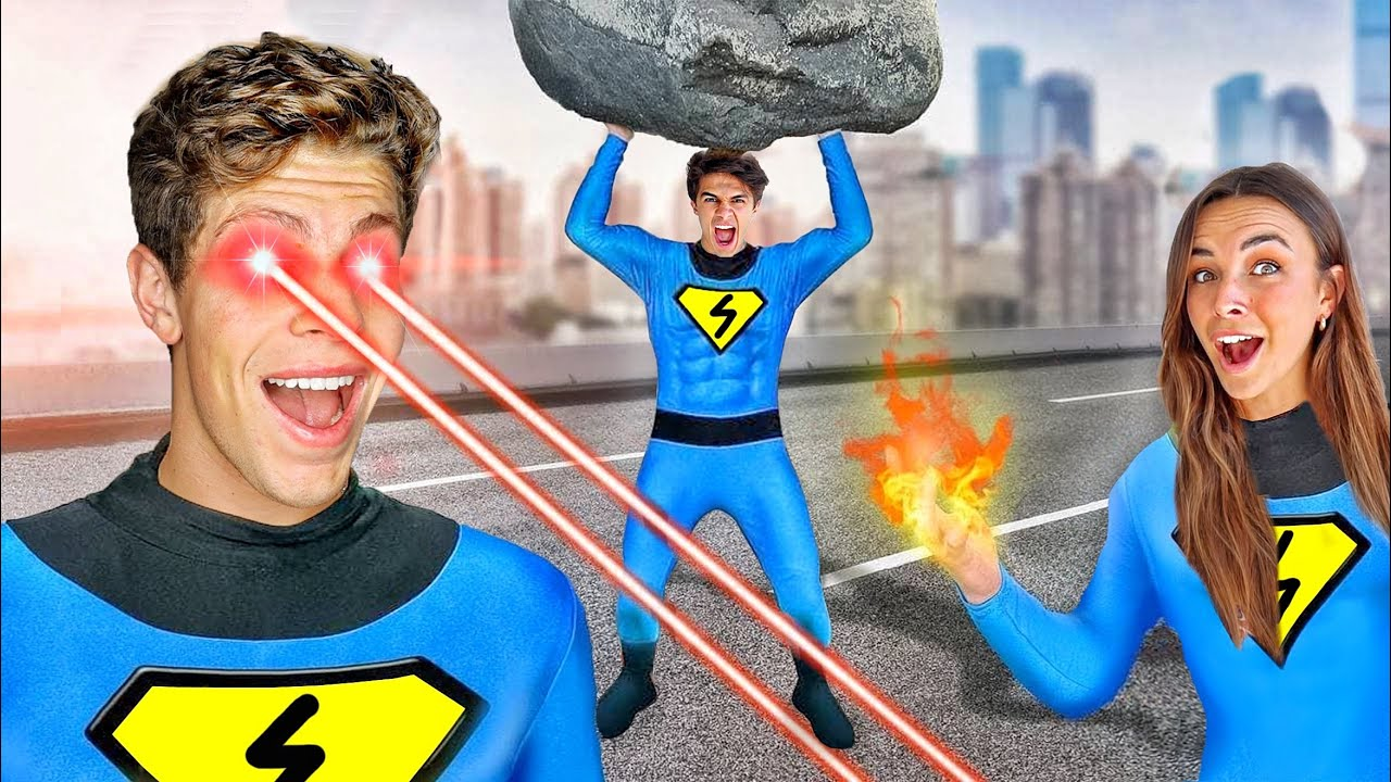 WE BECOME SUPERHEROES FOR 24 HOURS!