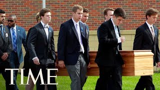 Thousands Attend Otto Warmbier