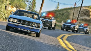 Chase for the Criminal | GTA 5 Action Movie
