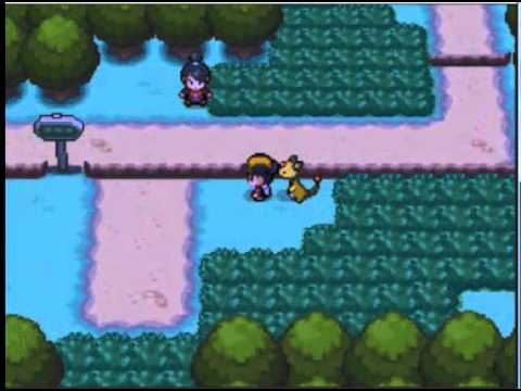 Pokemon Soul Silver Walkthrough (part 44) The Road to Viridian City