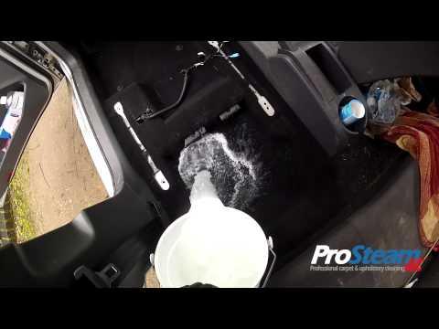 Automotive  Interior Deep Cleaning - Farnham - Milk spillage