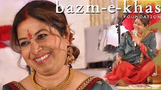 Phir le aaya dil    REKHA BHARDWAJ   Bazm e Khas    live concert Part - (4/4)