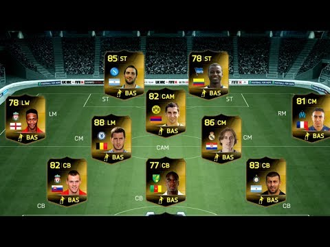 FIFA 14 BEST OF 9000+ FIFA Points Hoping For TIF HAZARD OR IF HIGUAIN Ultimate Team