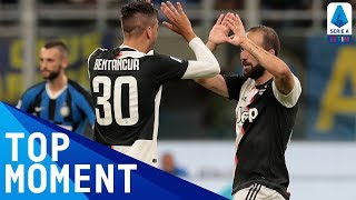 Higuaín Scores Winner After Fabulous Team Move!  | Inter 1-2 Juventus | Top Moment | Serie A