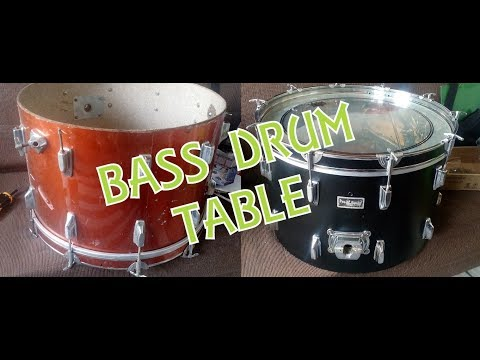 Bass Drum Convert Into Table