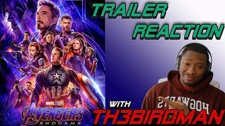 Download AVENGERS ENDGAME TRAILER REACTION w/Th3Birdman Video